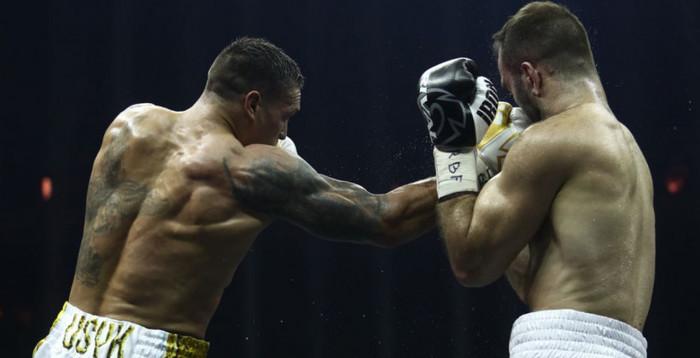 Александр Усик победил Гассиева и стал абсолютным чемпионом мира в первом тяжелом весе, обладателем кубка Мохаммеда Али!!!
