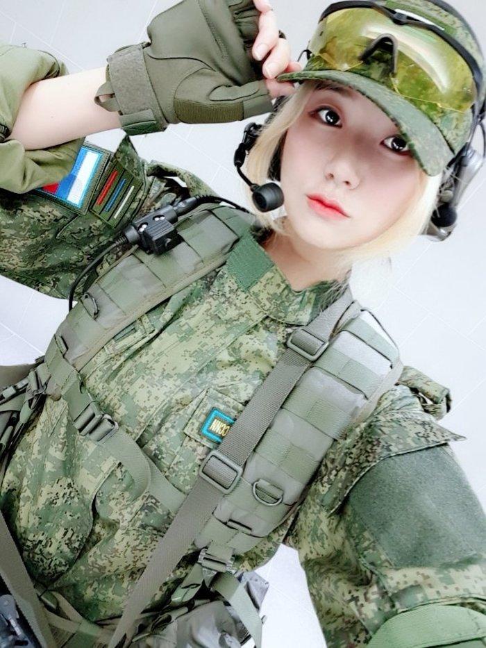 Южная кореянка косплеит ребят из 45-й ОБРСпН Женский косплей, Южная корея, Кореянки, Спецназ ГРУ, Косплей, Длиннопост