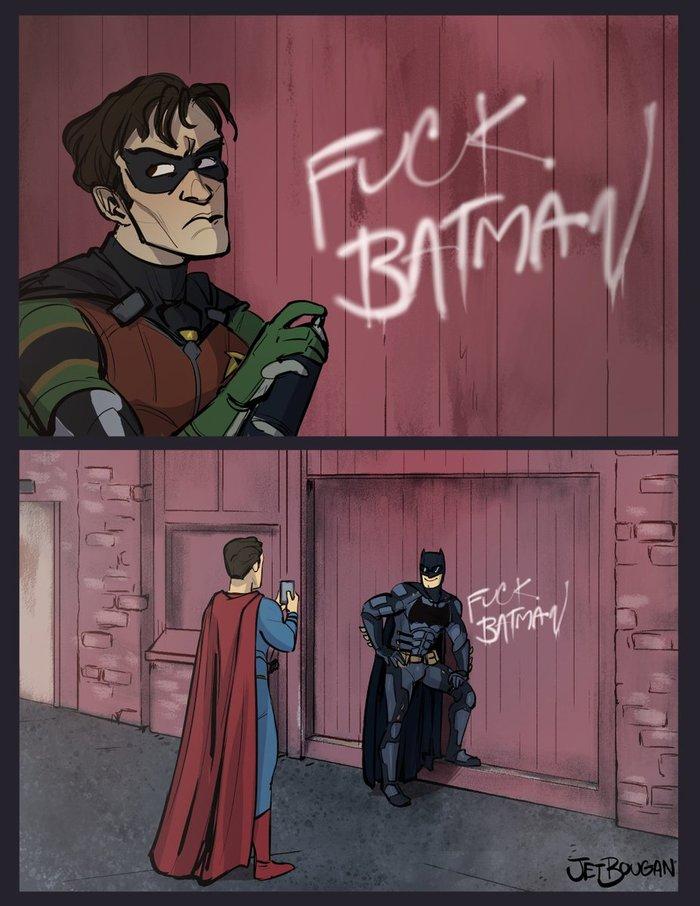 Fuck Batman Комиксы, Сериалы, Dc, Batman, Титан, Робин, Трейлер, Видео
