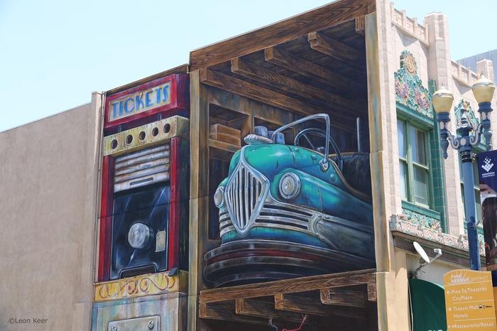 c6a8b1c9c393 Новый 3D мурал от Leon Keer на Long Beach.Photo  Leon KeerCalifornia, USA