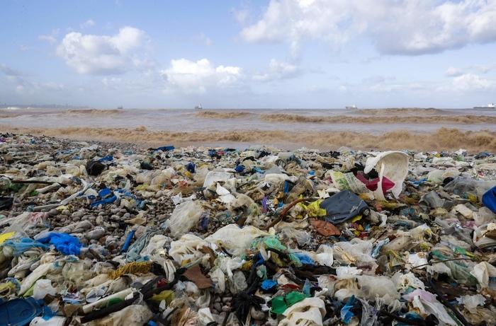 Пластиковый шторм Экология, Мусор, Ливан, Загрязнение, Экосфера, Длиннопост, Пластик, Шторм, Отходы