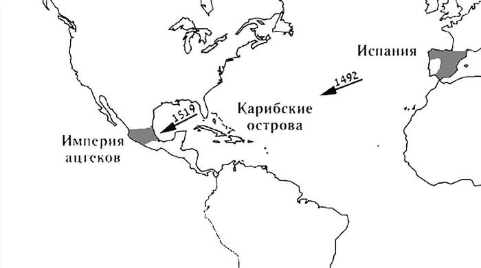 Как испанцы разрушили империю ацтеков История, Ацтеки, Эрнан кортес, Испания, Испанцы, Мезоамерика, Колонизация, Америка, Длиннопост