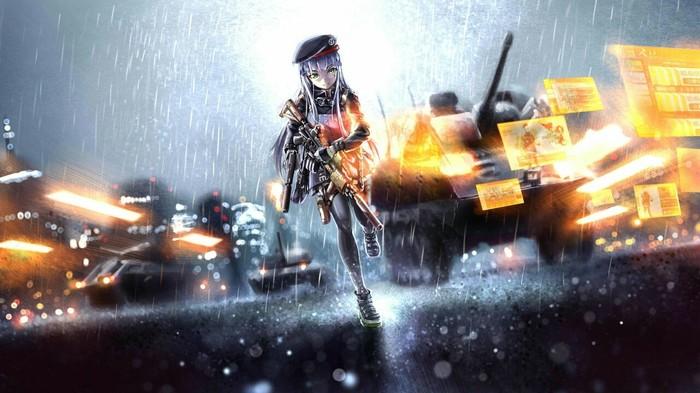 Арты к популярным играм в аниме стилистике Игры, Battlefield 1, Battlefield 4, Battlfield 3, Pubg, Bioshock infinite, Fallout 4, Аниме, Длиннопост