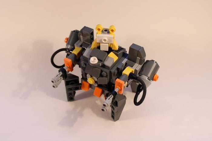 Таран из LEGO Lego, Overwatch, Wrecking ball, Таран, Хэммонд