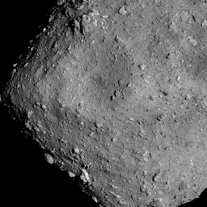 Японский зонд сфотографировал астероид с рекордно малого расстояния Космос, Фотография, Изучение, Астероид