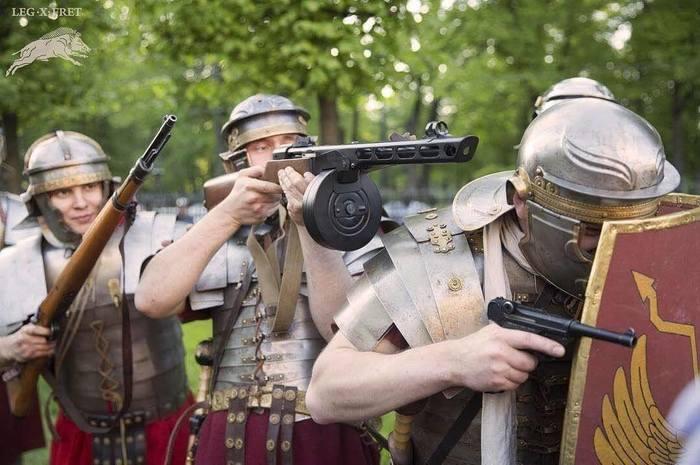 Когда Цезарь все же решился проапгрейдить свои легионы