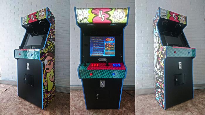 Классический аркадный автомат своими руками. Часть 1. Игровые автоматы, Длиннопост, Сборка, Своими руками, Аркадные автоматы