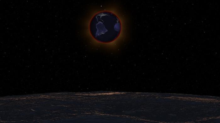 Лунное затмение. Другой взгляд.