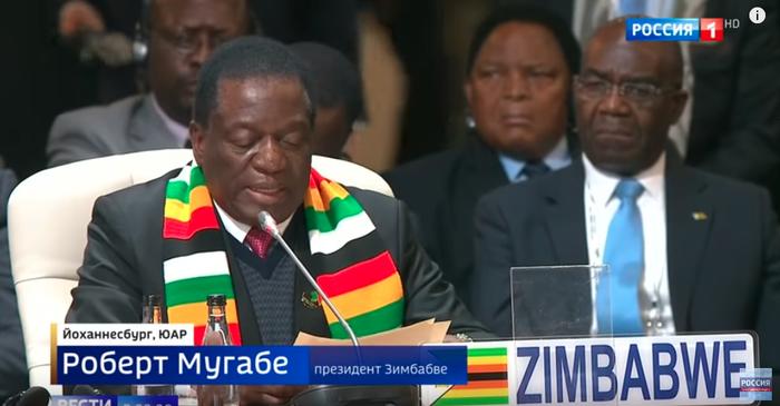Мугабе снова стал президентом, сменив внешность Президент, Роберт мугабе, Fail, Вести