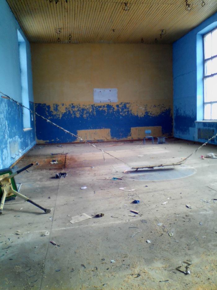 Еще одна заброшенная школа Книги, Старая школа, Длиннопост, Кяхта