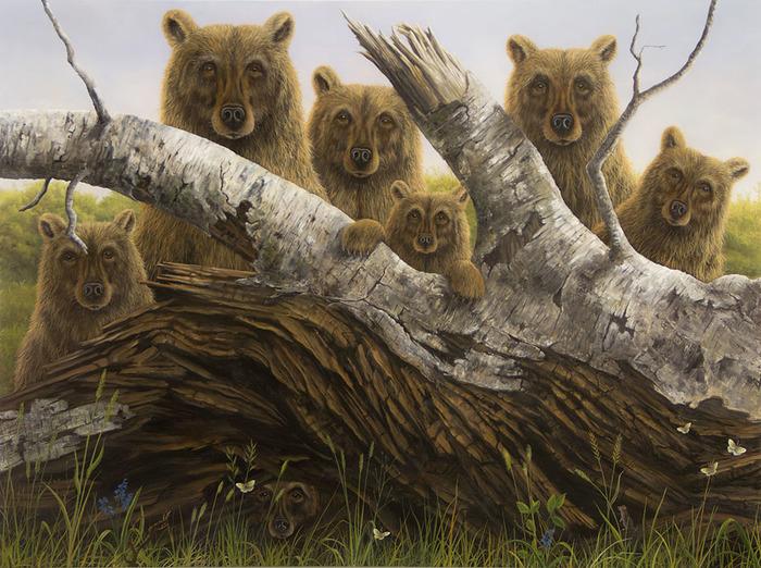 Малина — это слабительное средство, особенно, если в ней сидит медведь.