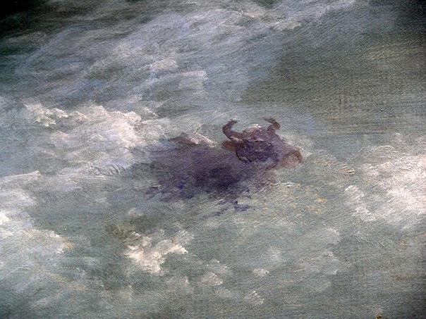 «Волна» Айвазовского. Корова. Волна, Айвазовский, Русский музей, Картина, Корова