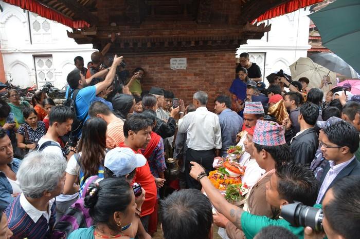 Непал. Встреча с богиней Непал, Катманду, Богиня, Туризм, Путешествия, Фотография, Длиннопост