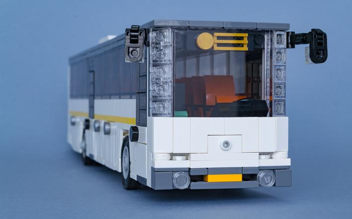 Междугородний автобус ЛиАЗ 5251 из Лего Lego, Автобус, Лиаз, Самоделки, Длиннопост