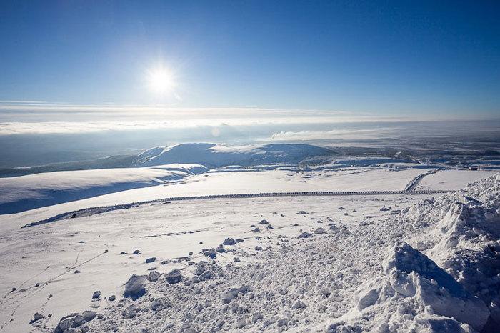 Малая Антарктида. Хибины Хибины, Россия, Природа, Снег, Антарктида, Длиннопост