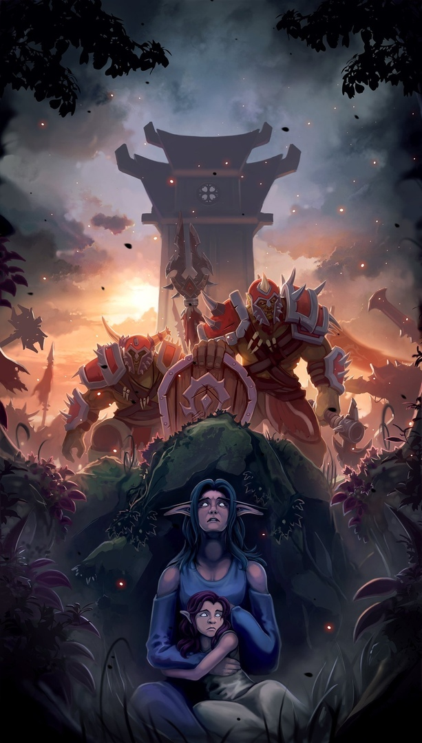 Агитка Альянса World of Warcraft, Battle for Azeroth, Wow