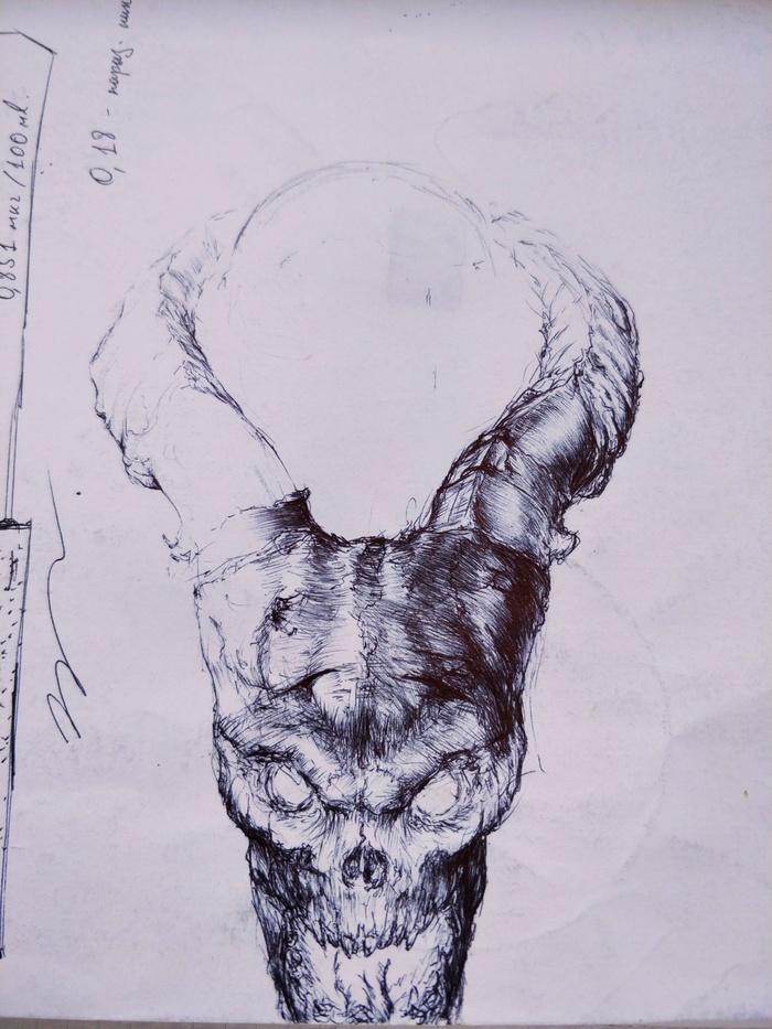 Демон Демон, Рисунок