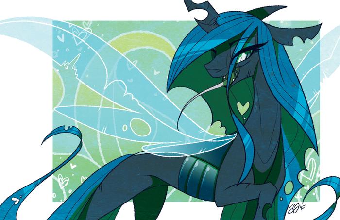 Chrysalis My Little Pony, Queen Chrysalis, Probablyfakeblonde