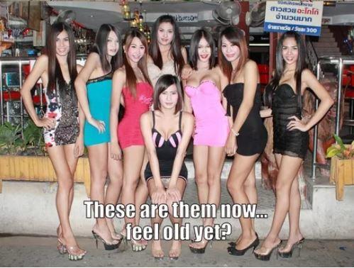 Приунынь... Таиланд, Трап, Черный юмор, Девушки, Дети