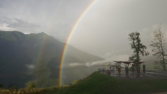 Двойная радуга Фотография, Радуга