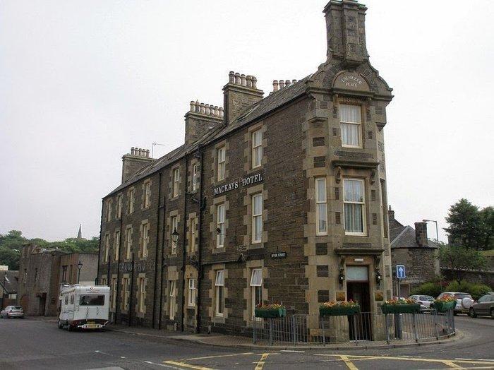 Самая короткая улица в мире Mackays, Шотландия, Фотография, Улица