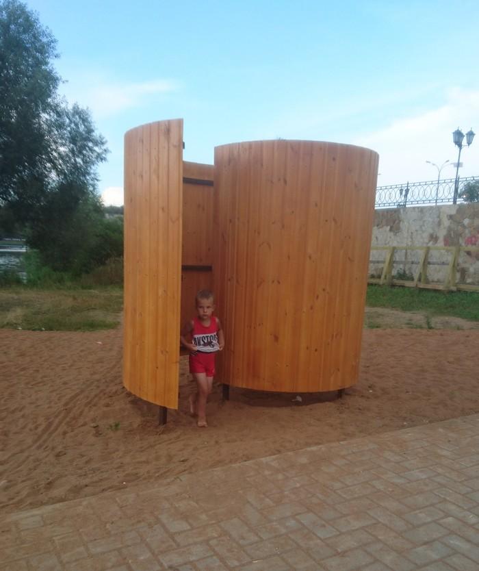 Раздевалка - общественный туалет? Пушкино, Ониждети, Московская область