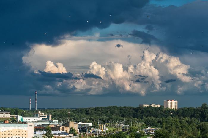 После дождя. г.Минск