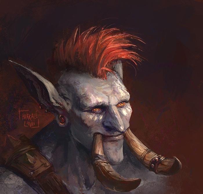 Zappy Boi Арт, Wow, Warcraft, Тролль