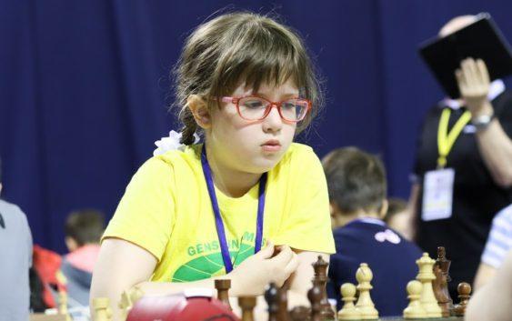 Девятилетняя россиянка привезла четыре медали с первенства Европы по шахматам Шахматы, Спорт, Россия, Дети, Вундеркинд