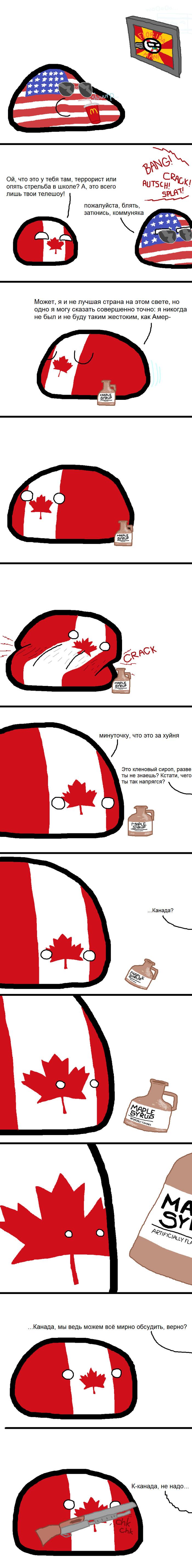 Искусственный кленовый сироп Countryballs, США, Канада, Кленовый сироп, Длиннопост, Мат