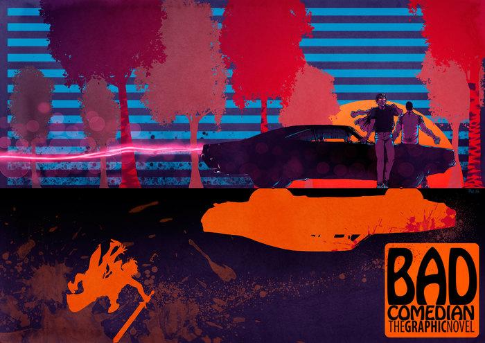BadComedian: The graphic novel (комикс 2017-го года) (длиннопост) Badcomedian, Фанатское творчество, Юмор, Русское кино, Александр Невский, Комиксы, Длиннопост