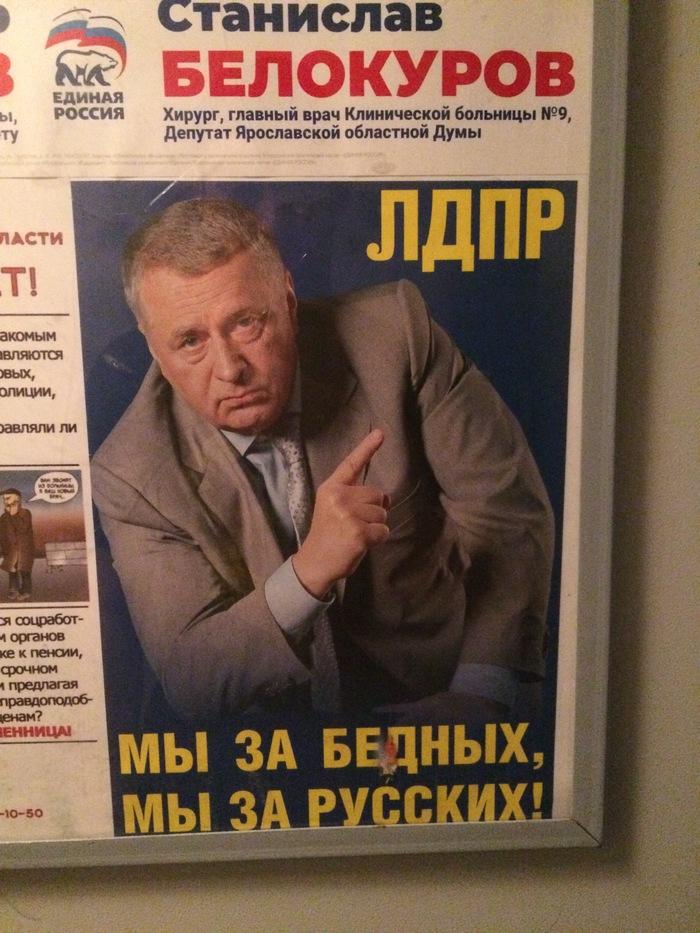 Мы за Русских... Политика, Выборы, Лдпр, Iphone 5s, Фотография, Лозунг