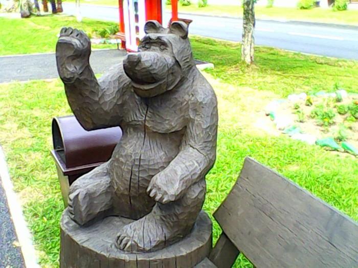 Когда скульптор не видел медведя Художник, Медведь, Конечности попутал, Анатомия, Мутатор мыть надо