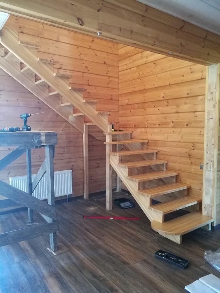 Лестница в твери Лестница, Интерьер, Дизайн, Дом, Дерево, Длиннопост