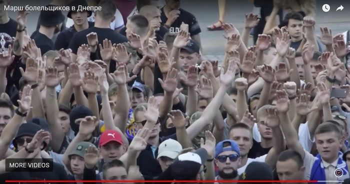 Фанаты древнеславянских символов: паства бога Дебило Украина, Политика, Неонацизм, Неонацисты, Антифашизм, На украине нацизма нет, Днепропетровск, Видео, Длиннопост