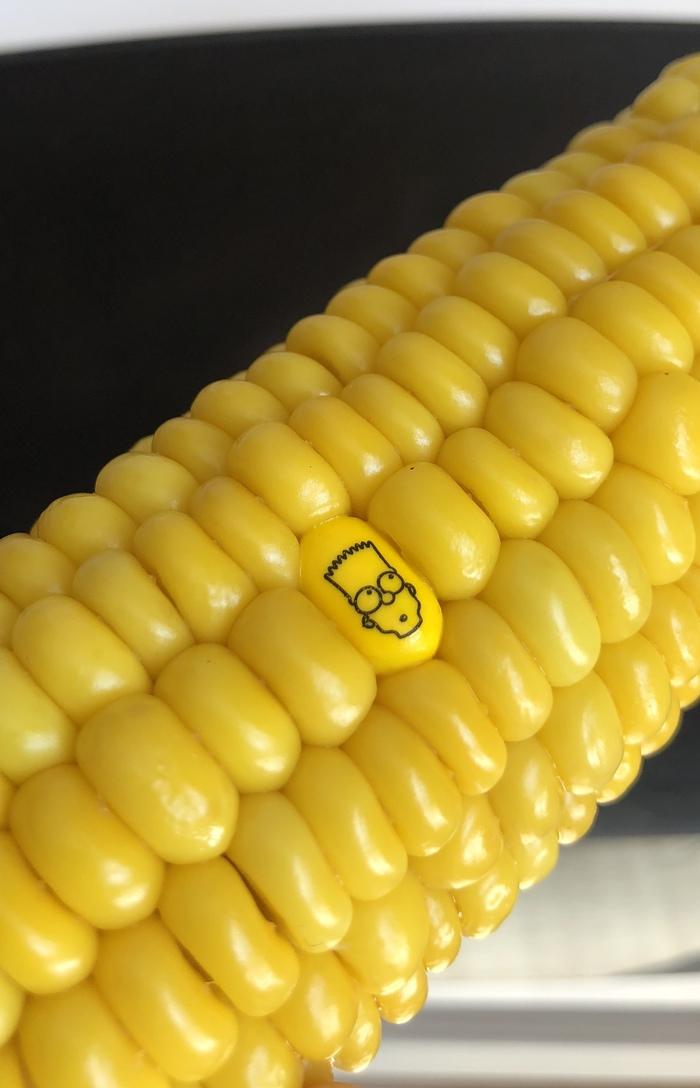 Первый день в универе Tic tac, Симпсоны, Корн, Тик-Так, Кукуруза