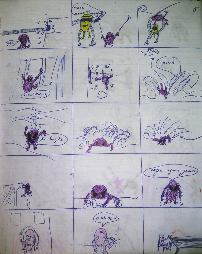 Мои детские комиксы (часть 2) Комиксы, Рисование, Человек-Паук, Длиннопост