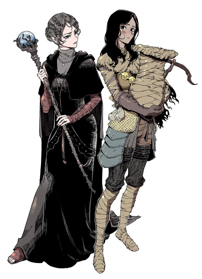 DS art 20124443_, Dark souls, Dark Souls 3, Арт, Длиннопост