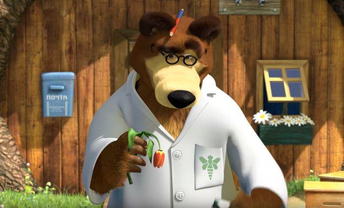 Кажется, Мишка умеет варить не только мед... Breaking bad, Маша и медведь, Отсылка, Отсылки в мультфильмах, Длиннопост