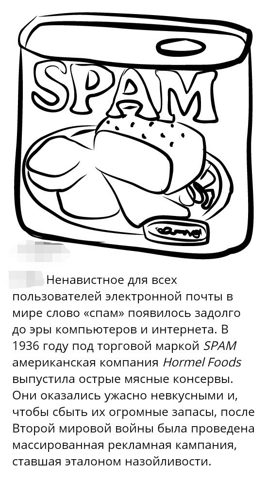 История СПАМа