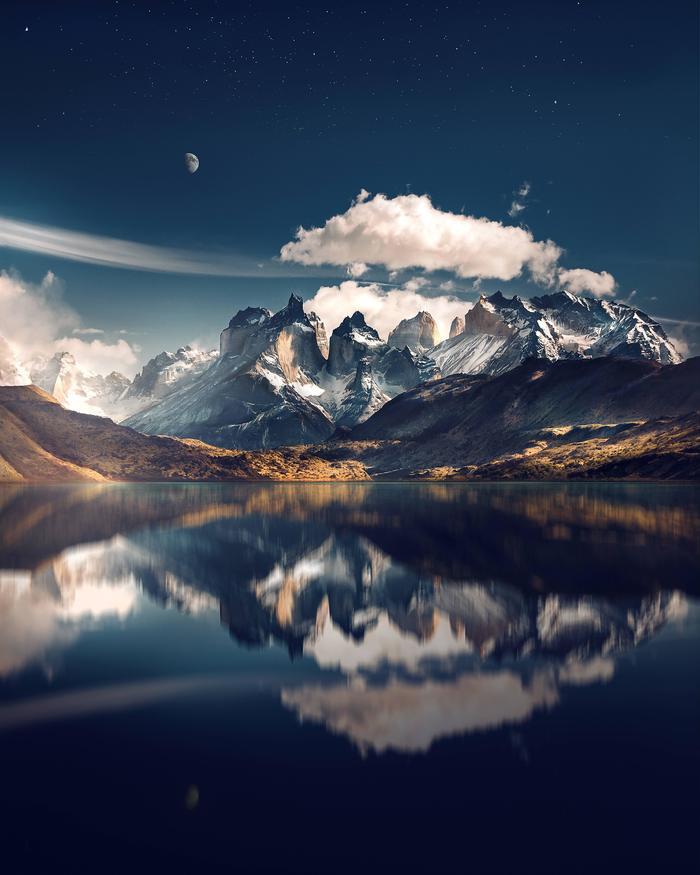 Patagonia на 100 мегапикселей