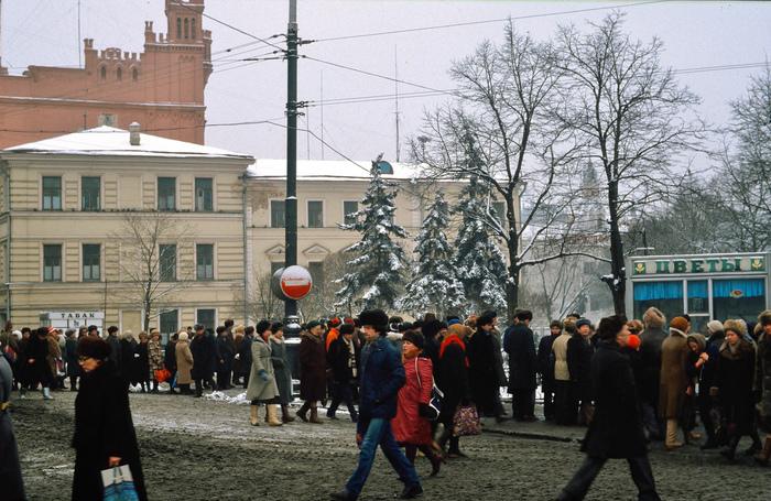 Фотографии американского туриста. Москва март 1984 г. Москва, Туризм, Интересное, Фотография, Ретро, СССР, 1984, Длиннопост