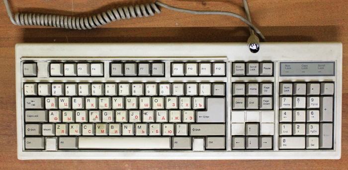 Воспоминания о клавиатуре #2. IT, Компьютер, Клавиатура, Старое железо, Длиннопост