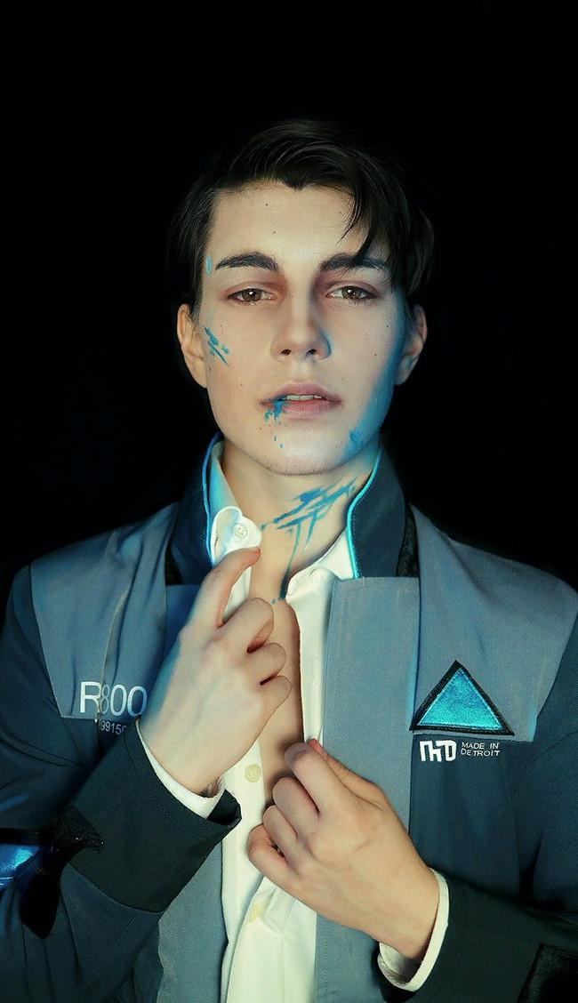 Connor - by -Gehe Косплей, Игры, Detroit: Become Human, Connor, Gehe, Длиннопост