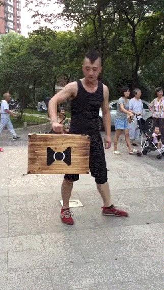 Неподвижный чемодан