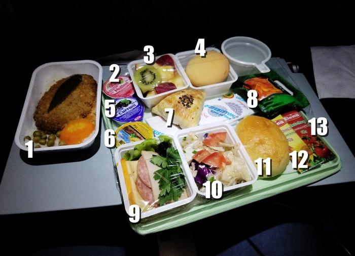 Как выглядит лучшее бортовое питание на самолетах в СНГ Узбекистан, Еда, Питание, Видео, Разбор, Длиннопост