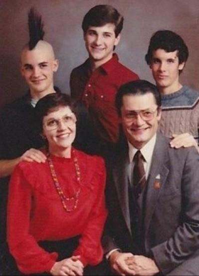Семейные фото бывают разные. Часть 8 Семейное фото, На память, Длиннопост