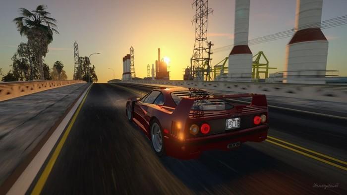 Моддеры улучшили графику GTA: San Andreas до невероятных пределов. Мод уже можно скачать. GTA, Gta: San Andreas, Текст
