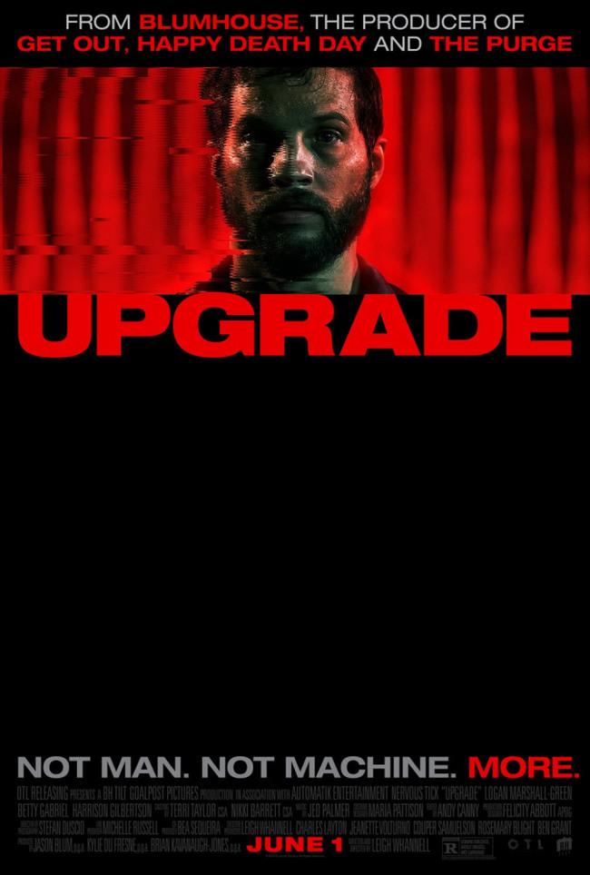 Советую посмотреть фильм Upgrade/Апгрейд Советую посмотреть, Фильмы, Апгрейд