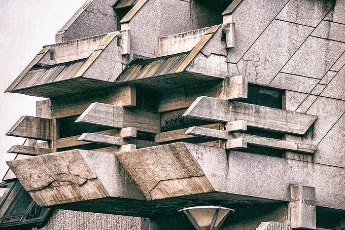 Суровый сербский футуризм. Архитектура, Советская архитектура, Футуризм, Гостиница, Длиннопост